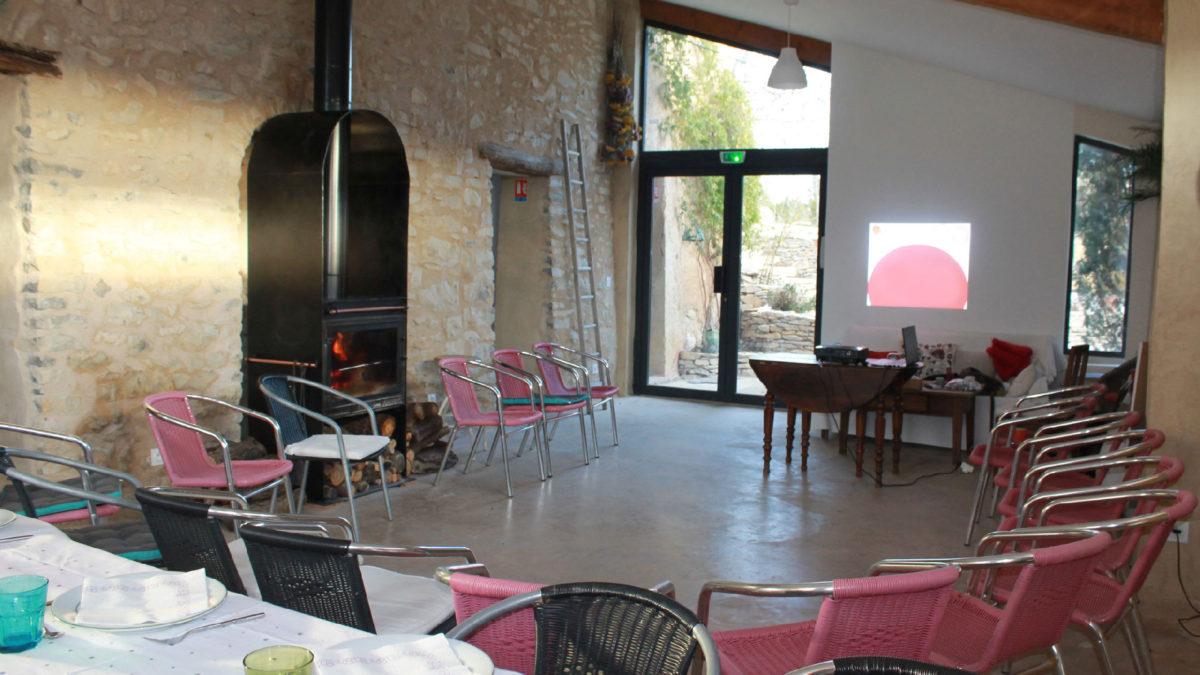 Réunion professionnelle au Jas de Péguier en Provence