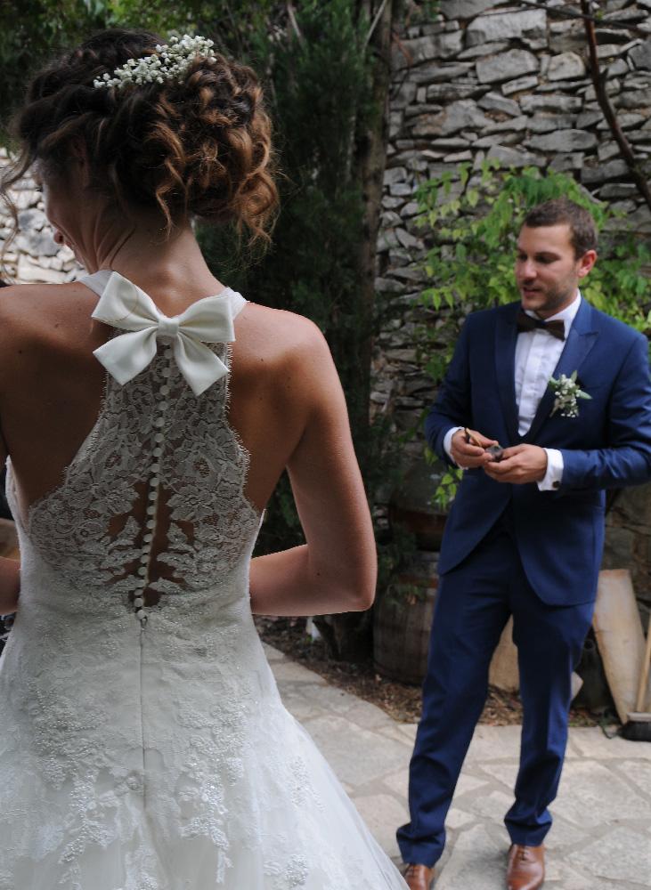 Un mariage dans le jardin du Jas de Péguier en provence