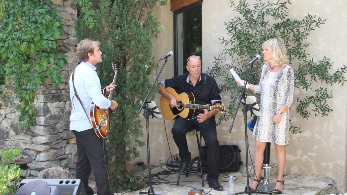 musiciens pour une fête au jas de péguier